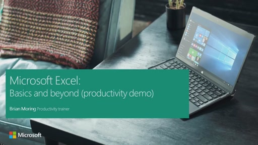 Microsoft Excel: Basics and beyond (productivity demo)