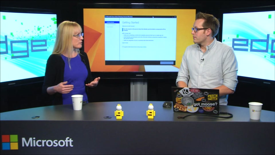 Edge Show115 - Azure AD Connect Preview (configuring hybrid identity with Azure AD)