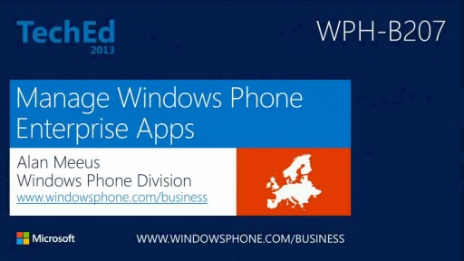Manage Windows Phone Enterprise Apps