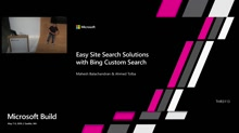 Easy Site Search Solutions with Bing Custom Search API