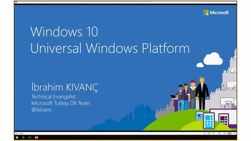 2 - Windows 10 Universal Windows Platform Uygulamaları