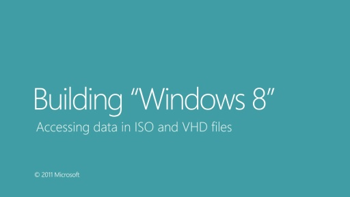 Accessing Data in ISO and VHD files