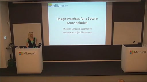 Design Practices for a secure Azure solution