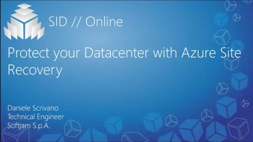 Protect your Datacenter with Azure Site Recovery