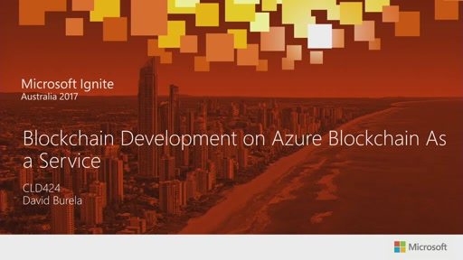 Blockchain Development on Azure Blockchain as a Service