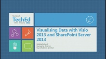 Visualising Data with Visio 2013 and SharePoint Server 2013
