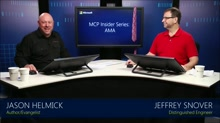 MCP Insider Series - AMA with Jeffrey Snover: (01) MCP Insider Series - AMA featuring Jeffrey Snover (Part I)