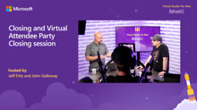 Closing and Virtual Attendee Party
