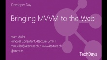 Bringing MVVM to the Web - Einführung in Single Page Applications