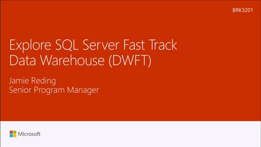 Explore SQL Server FastTrack Data Warehouse (FTDW)