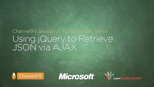 Using jQuery to Retrieve JSON via AJAX - 19