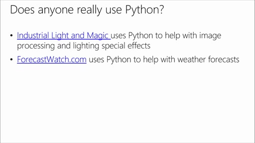 Introduction to Programming with Python: (01) Getting Started