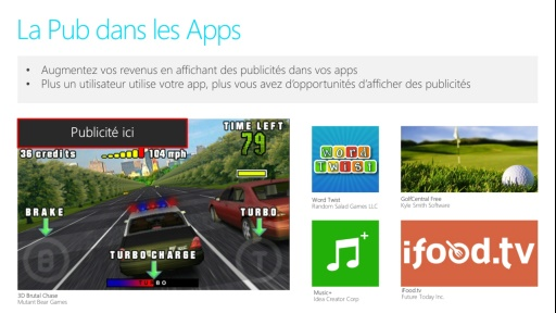 04 - La publicité dans votre application Windows App Studio