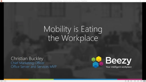 Mobility is Eating the Workplace