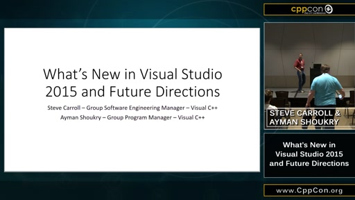 What's New in Visual C++ 2015 and Future Directions