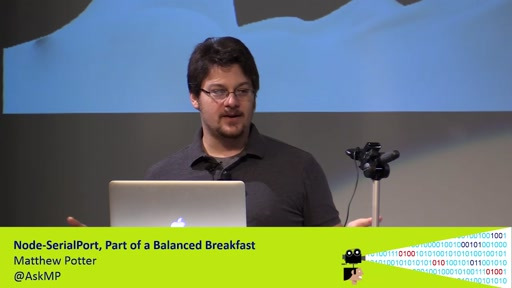 Node-SerialPort, Part of a Balanced Breakfast
