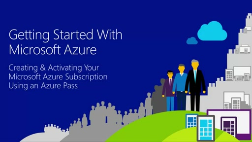 Activating Microsoft Azure Subscription Using Azure Pass