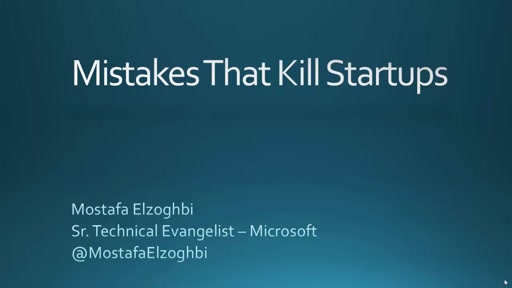 Mistakes that kill startups