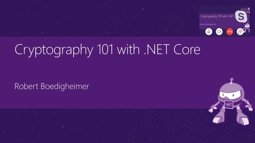 Cryptography 101 with .NET Core