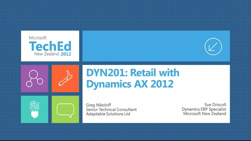Retail with Microsoft Dynamics AX 2012