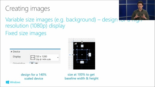 Building Apps for Windows Phone 8.1: (06) Adapting UI for Different Screens and Orientations