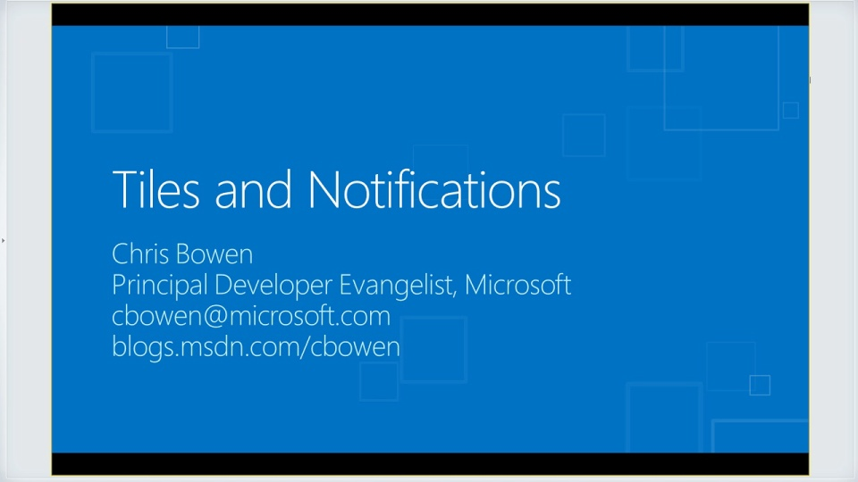 Bring Your Windows 8 Metro Style Apps to Life with Tiles and Notifications
