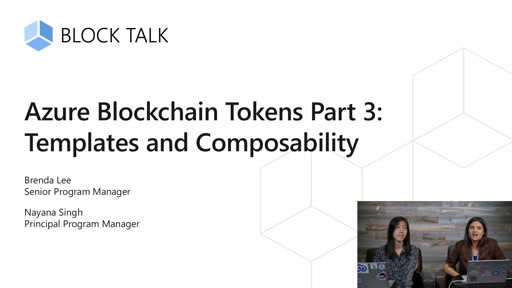 Azure Blockchain Tokens Part 3: Templates and Composability