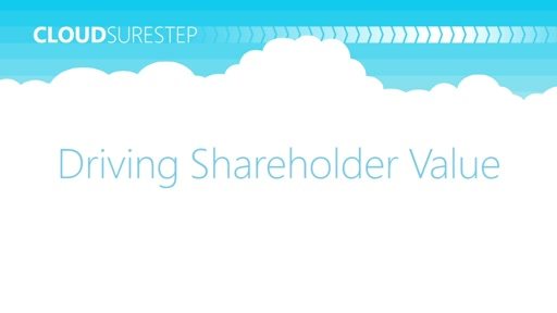 MPN Training Cloud Profitability Webcasts: Driving Shareholder Value
