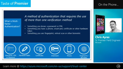 Added Security for Your Data and Applications: A Guided Tour of Azure Multi-Factor Authentication