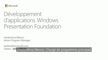 Développement d'applications Windows Presentation Foundation (WPF)