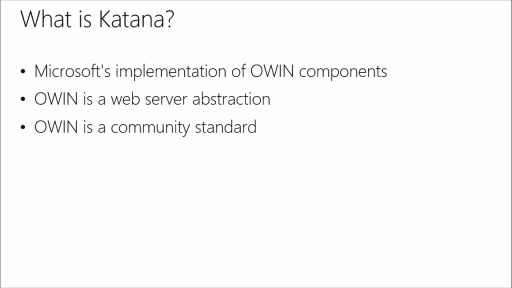 Building Modern Web Apps: (06) Katana Project