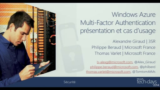 MFA6-Windows Azure Multi-Factor Authentication presentation et cas d'usage