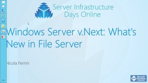 Windows Server v.Next: What's New in File Server