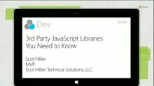 3rd party JavaScript libraries you need to know
