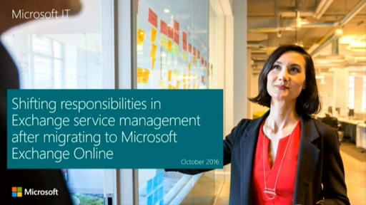Shifting responsibilities in Exchange service management after migrating to Exchange Online