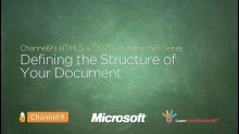 Defining the Structure of Your Document - 06