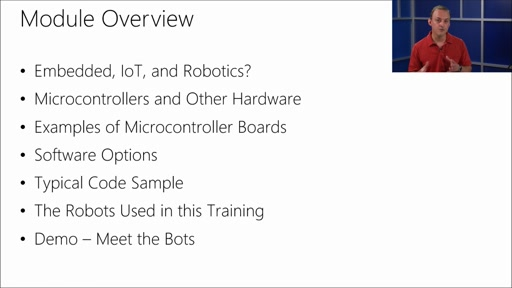 Programming Robotic Systems with Visual Studio: (01) Embedded Systems, Robotics, and This MVA Training Series