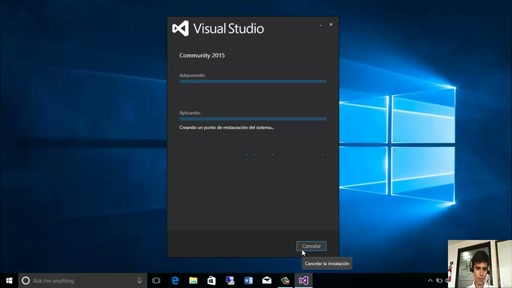 Descargar e Instalar Visual Studio 2015