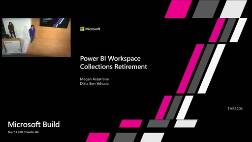 Power BI Workspace Collections Migration