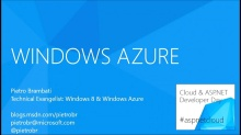 Windows Azure: What's hot