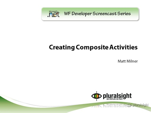 endpoint.tv Screencast - Creating Composite Activities