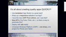 App Studio Part 1 - Building Universal Windows Apps with No Code