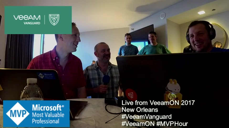 Episode 63 - Interview with Nick Furnell at VeeamON New Orleans #VeeamON #MVPHour