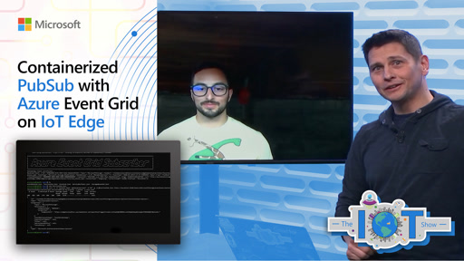 Containerized PubSub with Azure Event Grid on IoT Edge