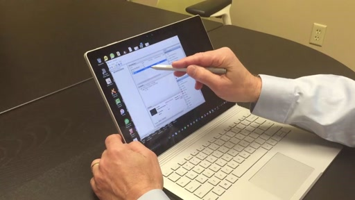 Surface Book running CRM 2016 on Hyper-V