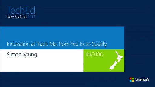 Innovation at Trade Me: from FedEx to Spotify