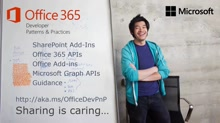 PnP Web Cast - JavaScript and Microsoft Graph (Quick Contacts Sample)