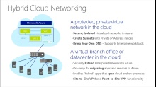 TechNet Radio: (Part 3) Modernizing Your Infrastructure with Hybrid Cloud - Planning Hybrid Cloud Networking