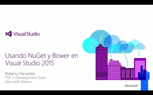 Usando NuGet y Bower en Visual Studio 2015