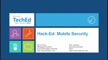 Hack-Ed: Mobile Security